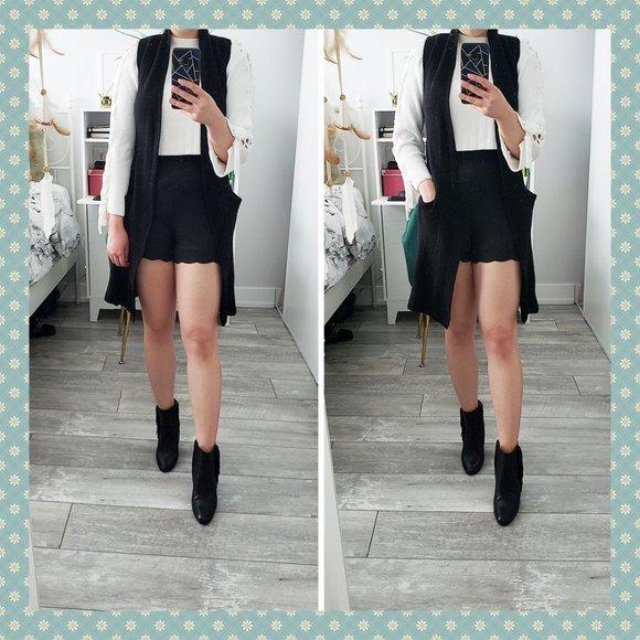 Aritzia Wilfred Olive Cardigan Vest